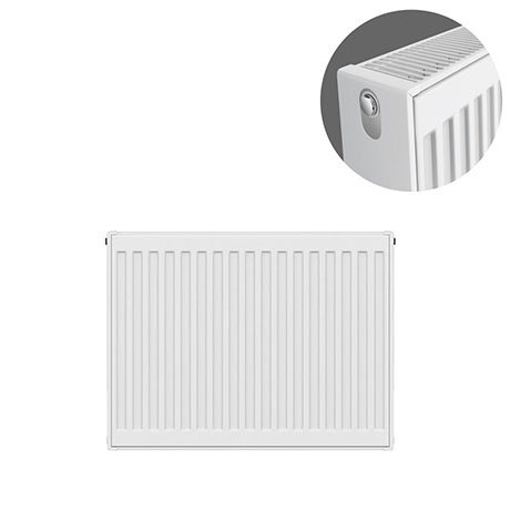 Type 22 H500 x W600mm Compact Double Convector Radiator - D506K