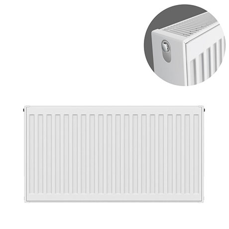 Type 22 H500 x W700mm Compact Double Convector Radiator - D507K