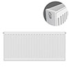 Type 22 H500 x W800mm Compact Double Convector Radiator - D508K profile small image view 1