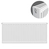 Type 22 H500 x W900mm Compact Double Convector Radiator - D509K profile small image view 1