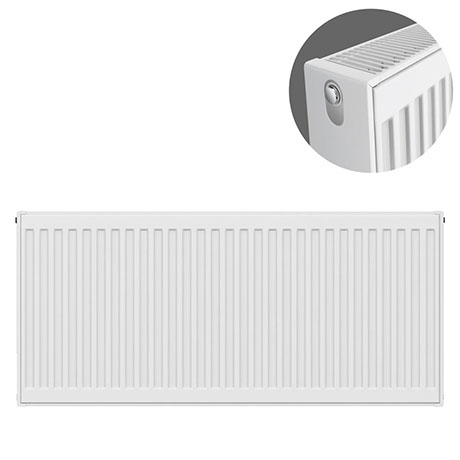 Type 22 H500 x W1000mm Compact Double Convector Radiator - D510K