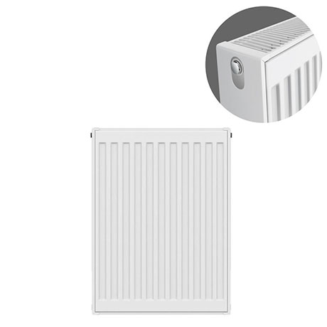 Type 22 H600 x W400mm Compact Double Convector Radiator - D604K