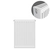 Type 22 H600 x W400mm Compact Double Convector Radiator - D604K profile small image view 1