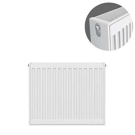Type 22 H600 x W500mm Compact Double Convector Radiator - D605K
