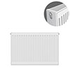 Type 22 H600 x W700mm Compact Double Convector Radiator - D607K profile small image view 1