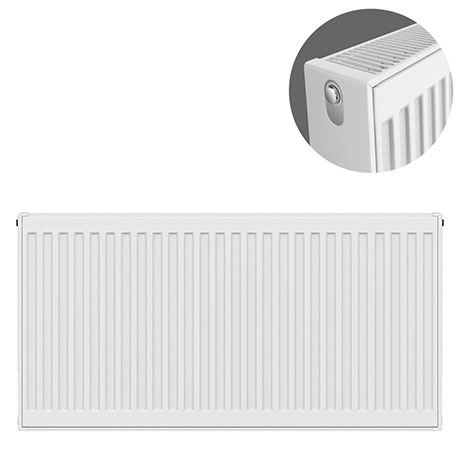 Type 22 H600 x W900mm Compact Double Convector Radiator - D609K