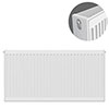 Type 22 H600 x W1000mm Compact Double Convector Radiator - D610K profile small image view 1