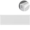 Type 22 H600 x W2400mm Compact Double Convector Radiator - D624K profile small image view 1