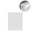 Type 22 H750 x W400mm Compact Double Convector Radiator - D704K profile small image view 1