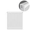 Type 22 H750 x W500mm Compact Double Convector Radiator - D705K profile small image view 1