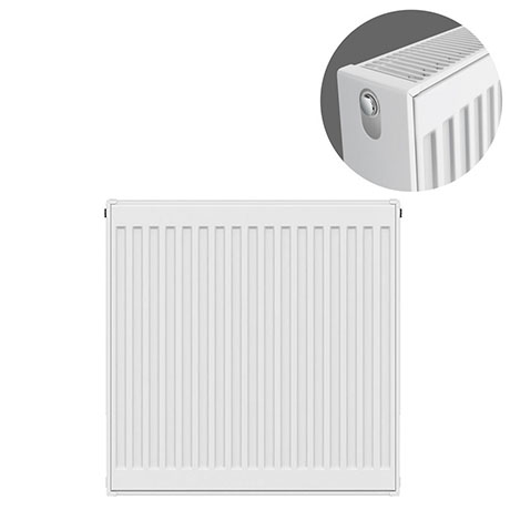 Type 22 H750 x W600mm Compact Double Convector Radiator - D706K