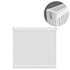Type 22 H750 x W700mm Compact Double Convector Radiator - D707K profile small image view 1