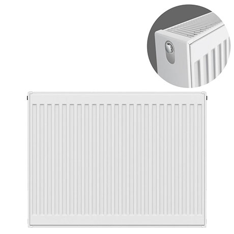 Type 22 H750 x W800mm Compact Double Convector Radiator - D708K