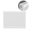 Type 22 H750 x W800mm Compact Double Convector Radiator - D708K profile small image view 1