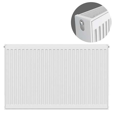 Type 22 H750 x W900mm Compact Double Convector Radiator - D709K