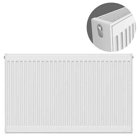 Type 22 H750 x W1000mm Compact Double Convector Radiator - D710K