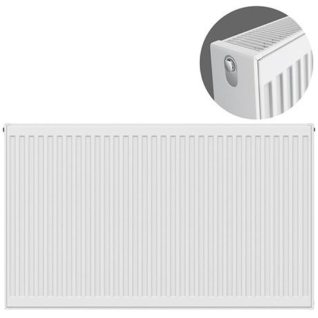Type 22 H750 x W1100mm Compact Double Convector Radiator - D711K