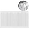 Type 22 H750 x W1200mm Compact Double Convector Radiator - D712K profile small image view 1