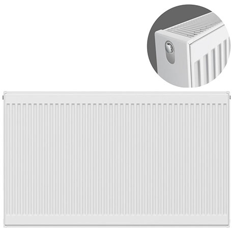 Type 22 H750 x W1400mm Compact Double Convector Radiator - D714K