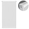 Type 22 H900 x W400mm Compact Double Convector Radiator - D904K profile small image view 1