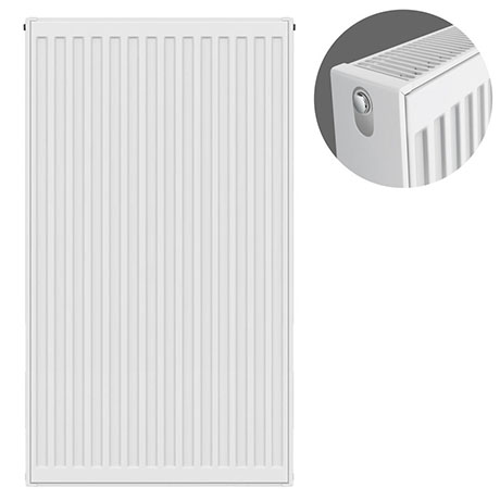 Type 22 H900 x W500mm Compact Double Convector Radiator - D905K