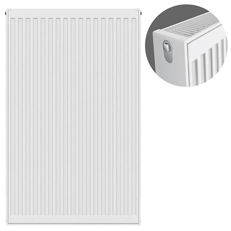 Type 22 H900 x W600mm Compact Double Convector Radiator - D906K