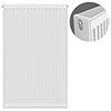 Type 22 H900 x W600mm Compact Double Convector Radiator - D906K profile small image view 1
