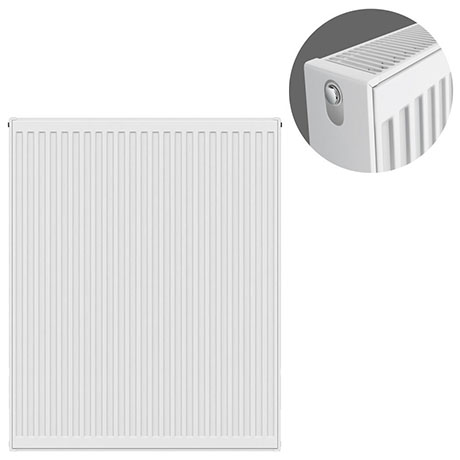 Type 22 H900 x W800mm Compact Double Convector Radiator - D908K