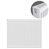 Type 22 H900 x W1000mm Compact Double Convector Radiator - D910K profile small image view 1