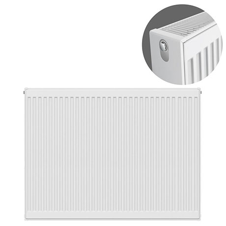 Type 22 H900 x W1100mm Compact Double Convector Radiator - D911K