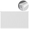Type 22 H900 x W1200mm Compact Double Convector Radiator - D912K profile small image view 1