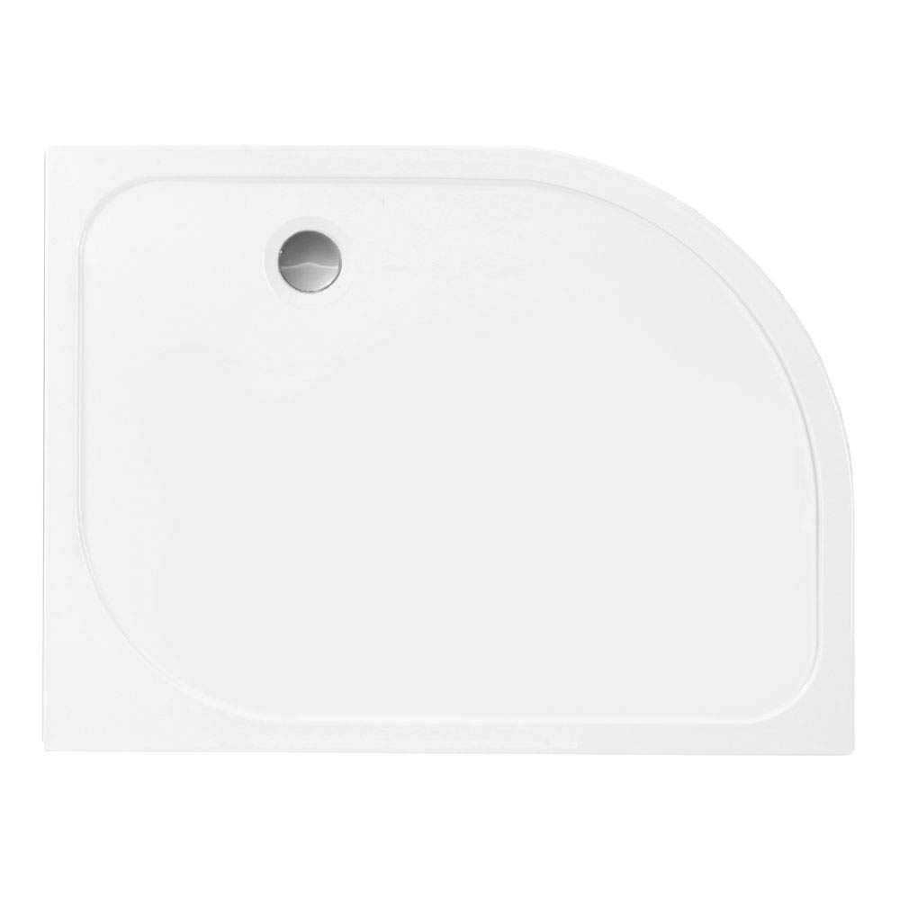 Merlyn MStone Offset Quadrant Shower Tray - Left Hand profile large image view 1