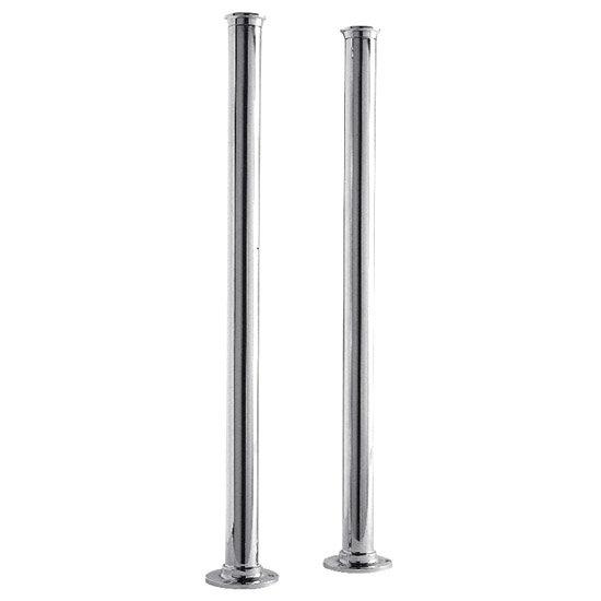 Ultra Freestanding Bath Standpipes - Chrome - DA311 Large Image