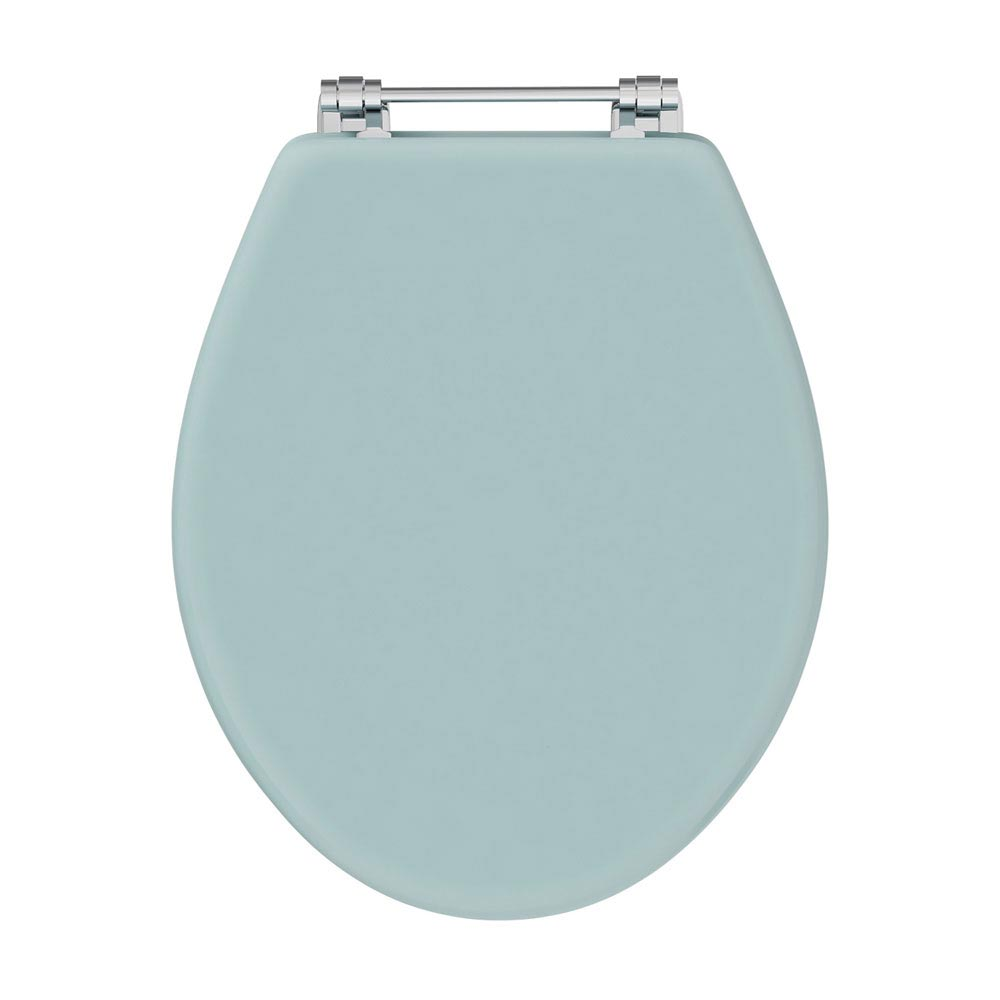 Downton Abbey Carlton Close Coupled Traditional Bathroom Suite - Duck Egg Blue Profile Large Image