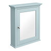 Old London Traditional Mirror Cabinet (650mm Wide - Duck Egg Blue) profile small image view 1