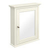 Old London Traditional Mirror Cabinet (650mm Wide - Ivory) profile small image view 1