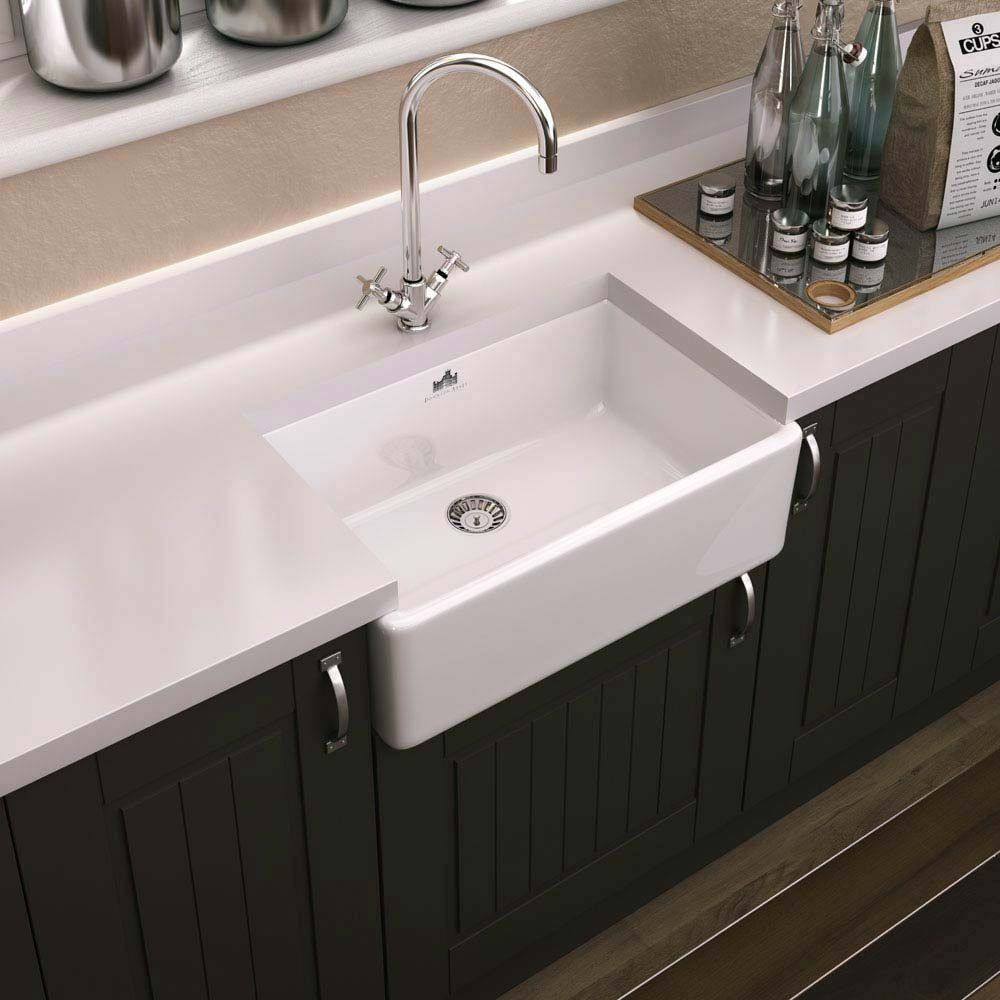 Downton Abbey Butler Kitchen Sink - W595xD450mm - DAFC906