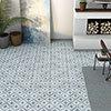 Dalton Dark Blue Wall and Floor Tiles - 330 x 330mm Small Image