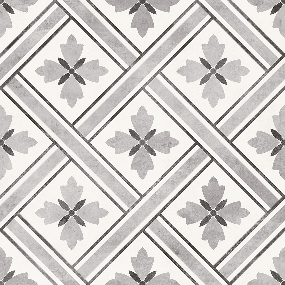 Dalton Charcoal Wall and Floor Tiles - 330 x 330mm