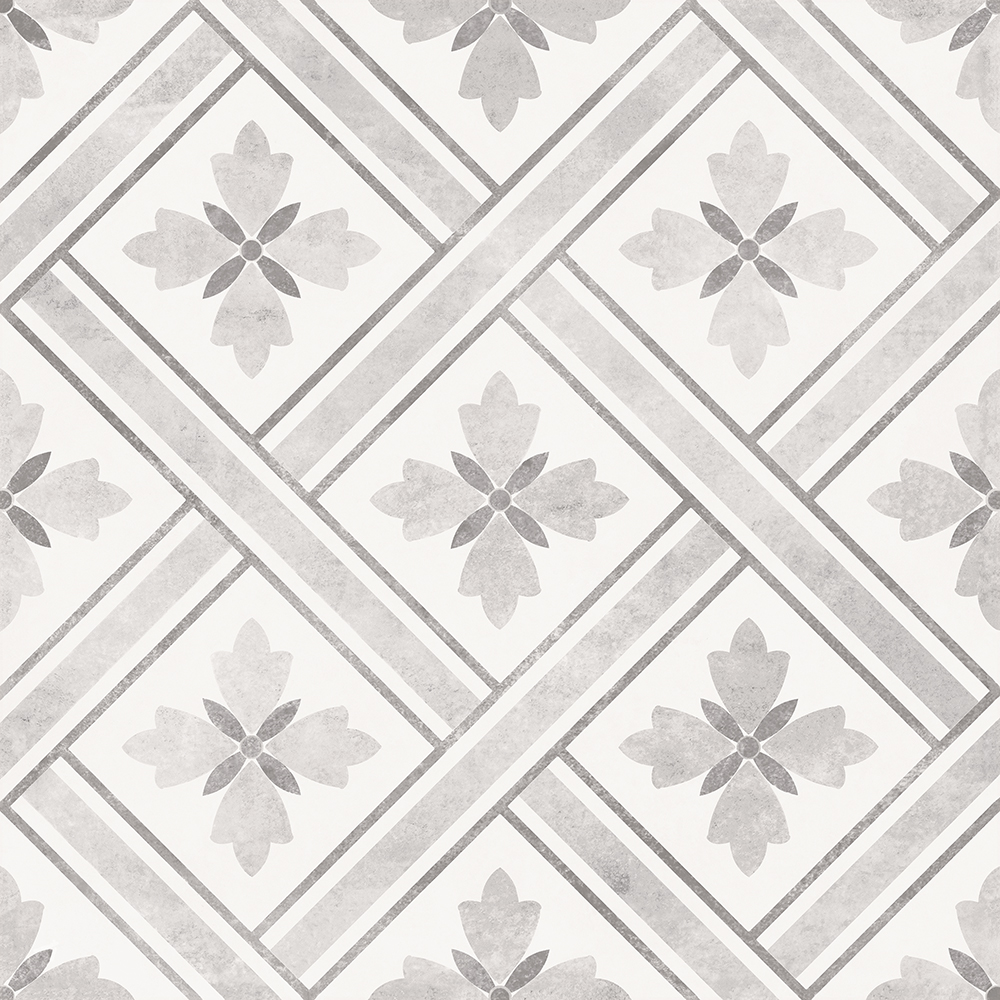Dalton Dove Grey Wall and Floor Tiles - 330 x 330mm