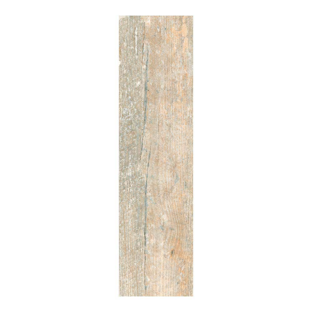 Darwin Light Wood Effect Porcelain Floor Tile - 220 x 850mm  Feature Large Image