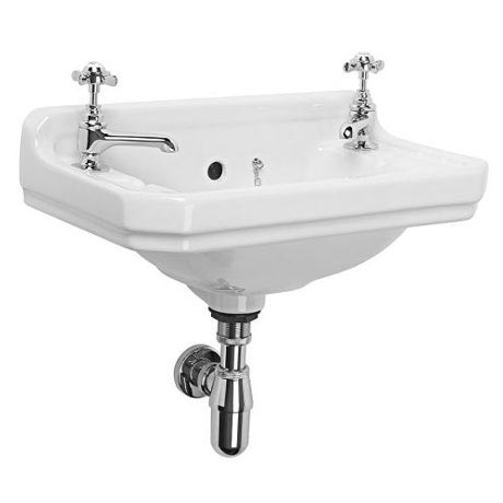 Tavistock Vitoria 500mm Wall Mounted Cloakroom Basin