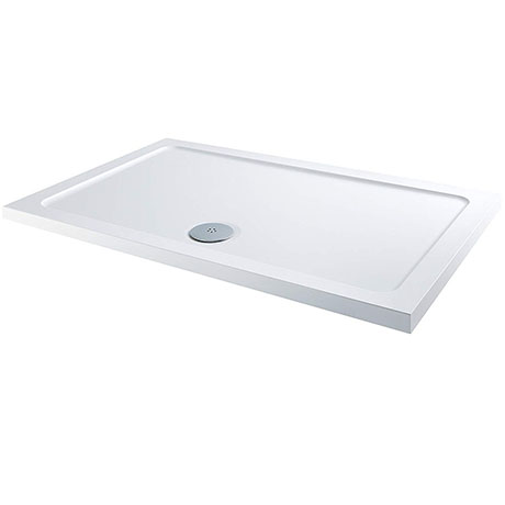 MX 1600 x 700mm Rectangular Low Profile ABS Stone Shower Tray - DCI