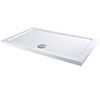 MX 1600 x 700mm Rectangular Low Profile ABS Stone Shower Tray - DCI profile small image view 1