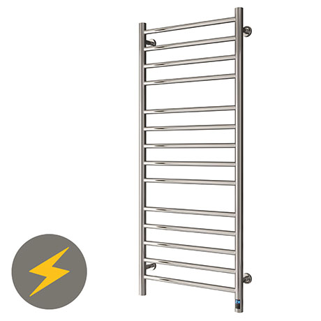 Reina Arnage H800 x W500mm Dry Electric Heated Towel Rail