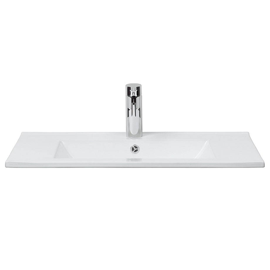 Crosswater - Design 1 Tap Hole Inset Basin - 3 Size Options