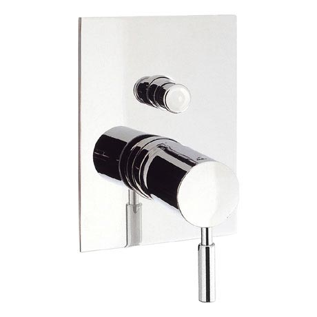 Crosswater - Design Concealed Manual Shower Valve with Diverter - DE0005RC