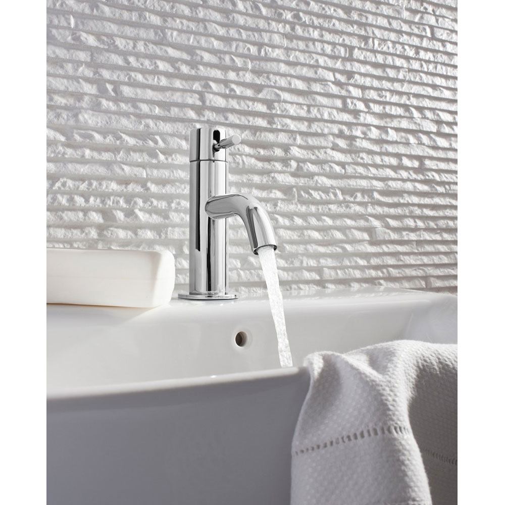 Crosswater - Design Mini Monobloc Basin Mixer - DE114DNC Profile Large Image