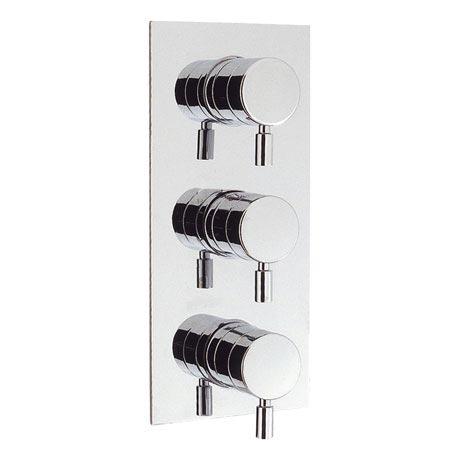 Crosswater - Design Thermostatic Shower Valve with 3 Way Diverter - DE3000RC