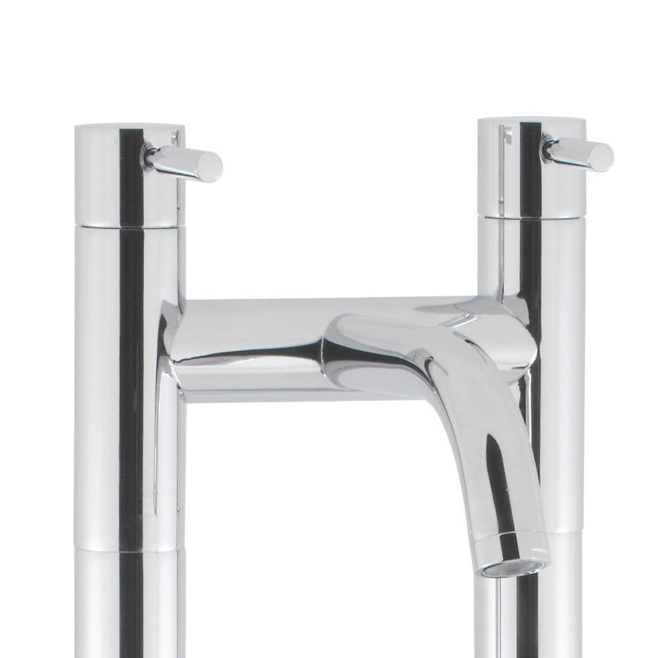 Crosswater - Design Floor Mounted Freestanding Bath Filler - DE322DC-AA002FC Profile Large Image